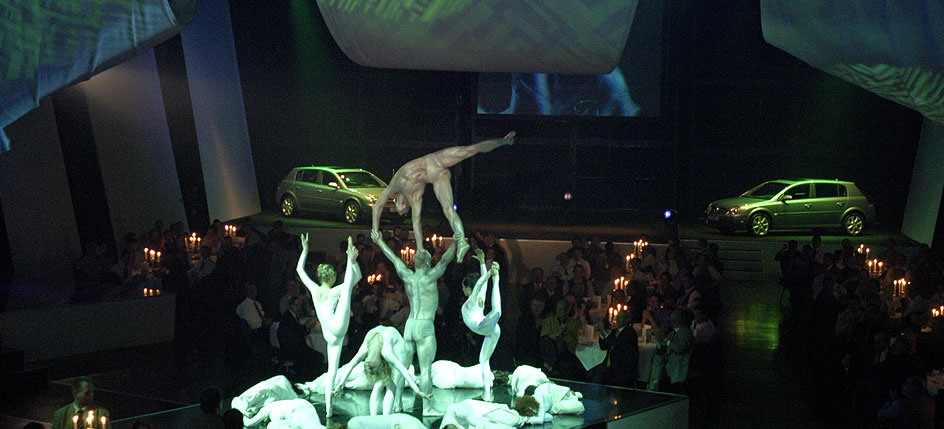 Live Events: Gala und Show